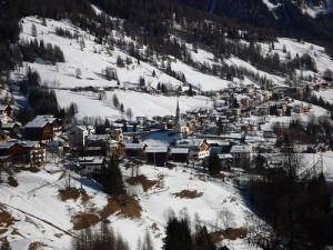 Colle Santa Lucia, una serena vacanza sulla neve