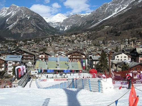 Bormio, le piste da sci e le terme